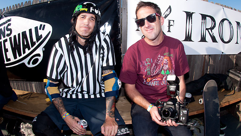 Darren Navarette and Mike Burnett