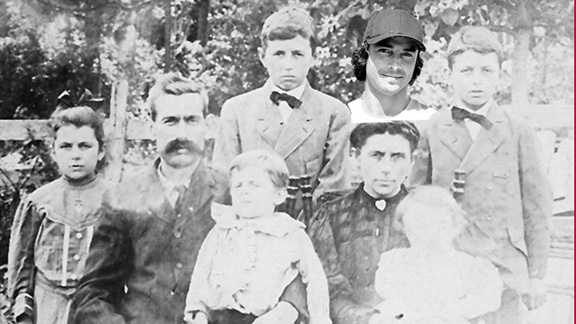 How deep are Matt Beacham's Outer Banks roots? This is the family of Decatur Beacham Jr, circa 1895 from the Currituck County archives. Check the resemblance.