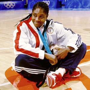Teresa Edwards' stellar international career included 19 stints with Team USA, winning 14 gold medals and compiling a 205-14 record.