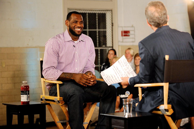 2. Storyline - LeBron James' Decision