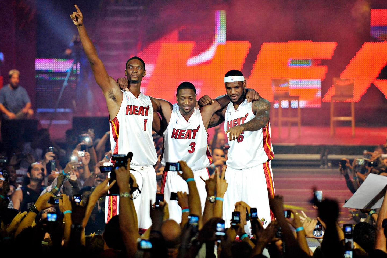 3. Mover - Miami Heat