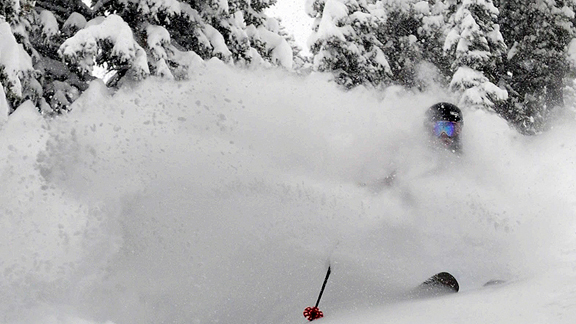 Alta is reporting over 220 inches so far this season. Talk about a good Christmas present.