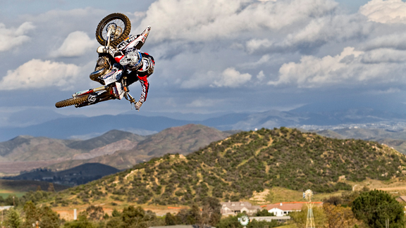 Metzger, high above the Southern California proving grounds that spawned him.