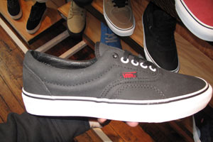 Max Schaaf suped up a Vans Era Pro for a 4Q collab that looks great.