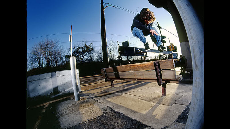 Jordan Gesko, backside kickflip