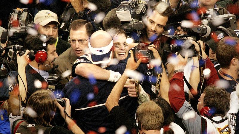 Super Bowl XXXVIII, Tom Brady