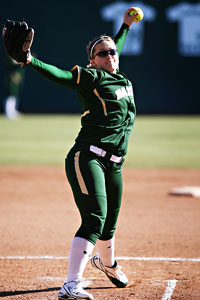 Whitney Canion is a welcome sight in the circle for Baylor.