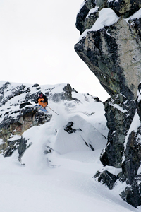 Ryan McRae on Blackcomb Mountain.
