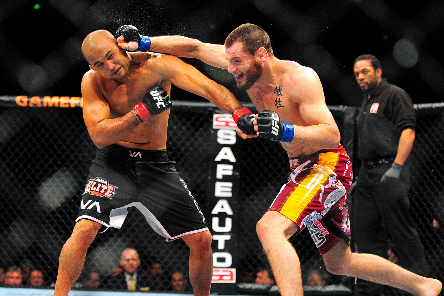 B.J. Penn vs. Jon Fitch