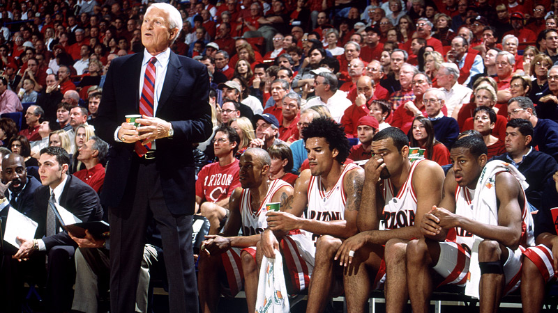 Arizona Basketball Lute Olson