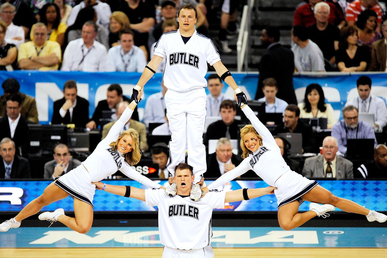Butler Bulldogs cheerleaders