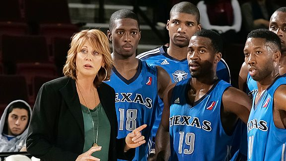 Nancy Lieberman has played with the men, and now she's coaching them. But even she admits, There are no women today who are 6-foot-6, 250 pounds and can plow through a dude.