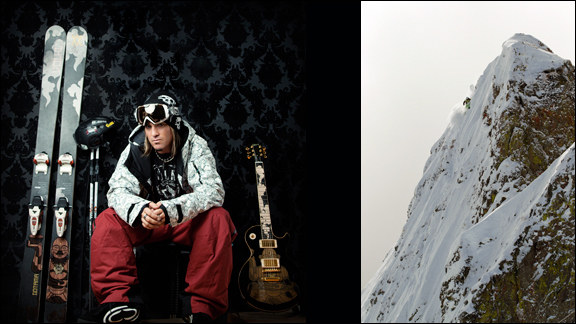 Matt Reardon doubles as a pro freeskier and a musician.