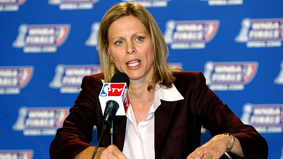 Val Ackerman was inducted into the Women's Basketball Hall of Fame in 2011.
