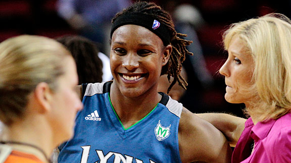 Rebekkah Brunson might not be the most famous player on the Lynx, but she's been one of the most important in the early weeks of the new season.