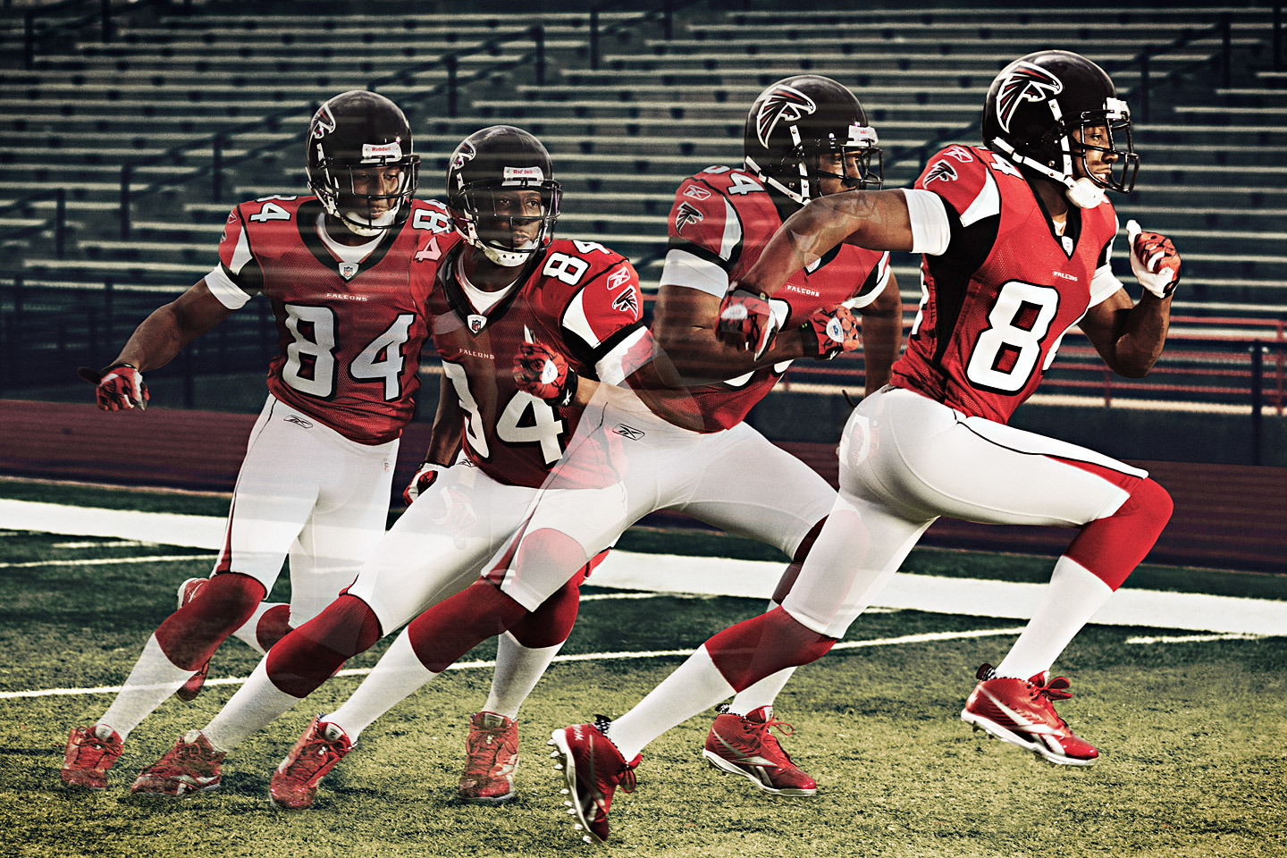 Best mechanics in sports: Routes, by Roddy White, Atlanta Falcons