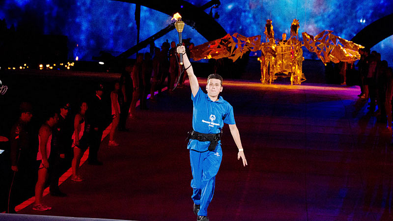 Special Olympics World Summer Games Opening Ceremony