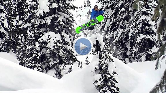leanne pelosi, snowboarding video
