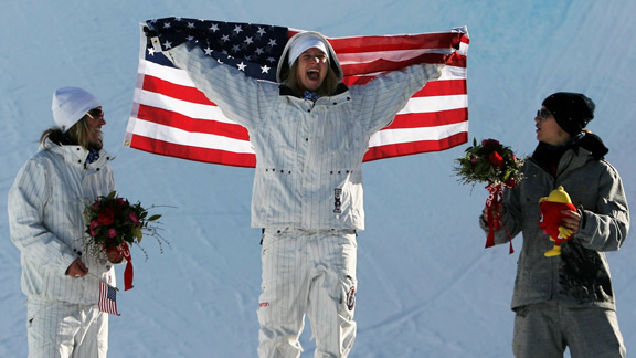 Hannah Teter's 2006 halfpipe gold medal changed the course of her career.
