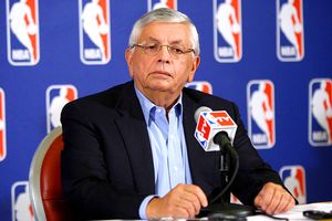 David Stern announced Thursday that the NBA will lock out its players, effective at 12:01 ET on Friday.