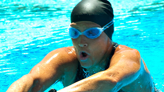 To fuel impossibly long training swims, she's eating up to 9,000 calories a day, and most of it's not even solid food.