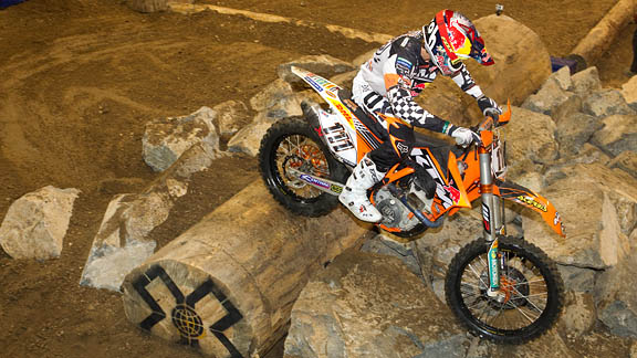 This is the first Enduro X event in the X Games.