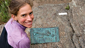 Jennifer Pharr Davis fell in love with the Appalachian Trail on her 2008 hike.