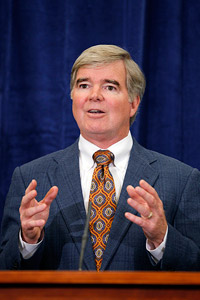 On Wednesday, NCAA president Mark Emmert used the phrase shocking affair to describe his organization's latest fiasco.