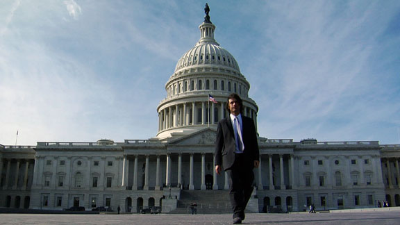 POW founder Jeremy Jones at the nation's Capitol last year. Jones will return to D.C. in September.