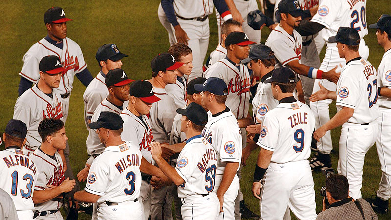 Sept. 21, 2001: New York Mets vs. Atlanta Braves