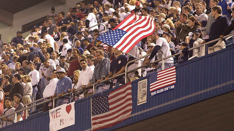 Sept. 25, 2001: New York Yankees vs. Tampa Bay Devils Rays