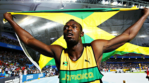 Usain Bolt might have Jamaican-Americans doing the Lightning Bolt dance with him if he wins gold.
