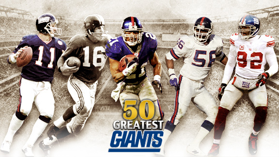 The 50 Greatest Giants