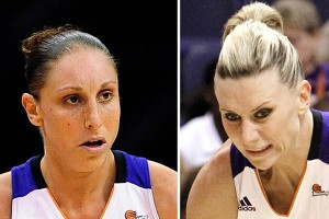 Diana Taurasi and Penny Taylor combine for about 38 points, eight rebounds and nine assists per game for Phoenix.