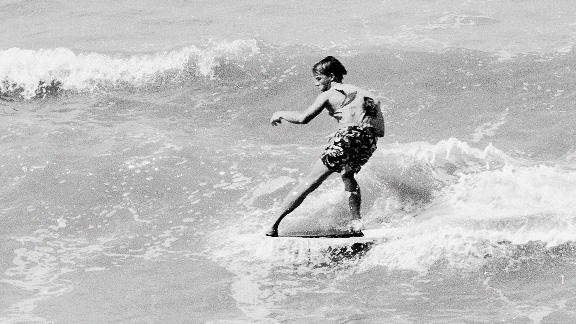 By the early '70s, Cocoa Beach was a focal point of the Florida surfing community.