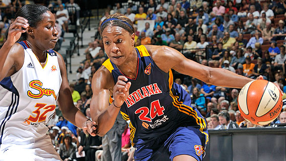 Tamika Catchings is seeking her first WNBA title.