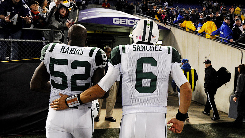 David Harris, Mark Sanchez