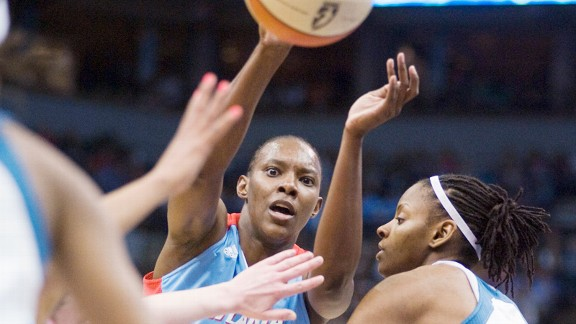 Before Game 1 of the WNBA Finals, Sancho Lyttle had been averaging 11.8 points per game in the playoffs.