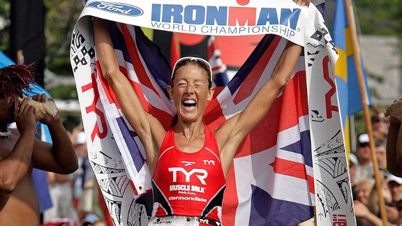 Chrissie Wellington won the Ironman world championship for the fourth time on Oct. 8, 2011.