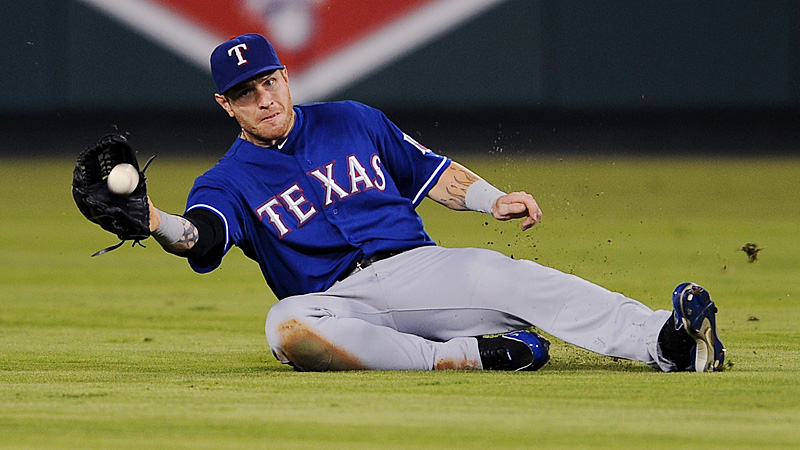 Best defensive player (OF): Josh Hamilton