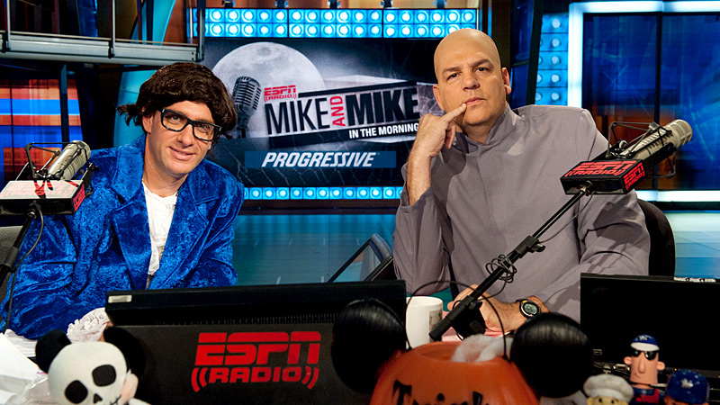 Mike & Mike Halloween 2011