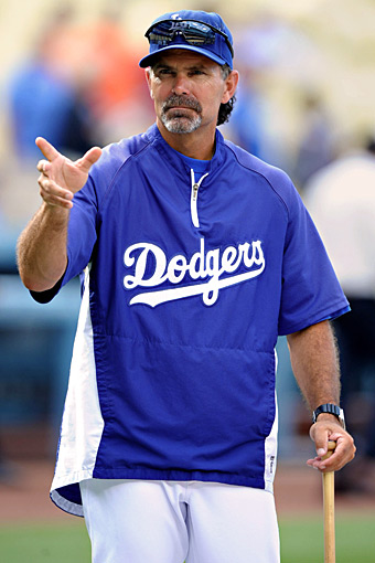 Trey Hillman, Dodgers bench coach