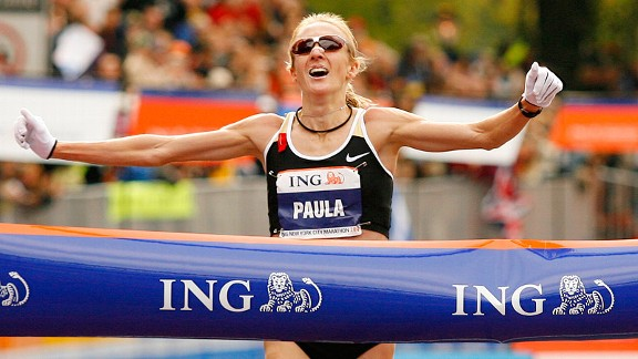 Paula Radcliffe, who won the 2007 New York City Marathon nine months after giving birth, is the type of woman who can give us a tour of the city anytime.
