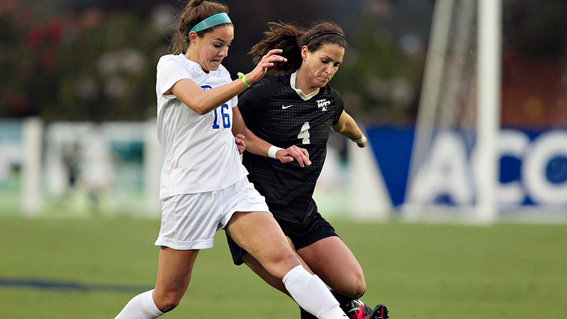 Brandi Chastain thinks both Duke and Wake Forest will advance to the NCAA final four.