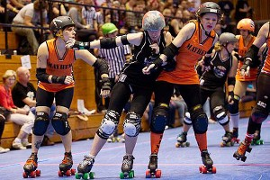 Pass the Advil and get out of my way. No amount of pain can lessen McManus' love affair with roller derby.