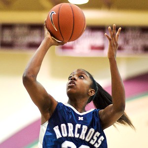 Diamond DeShields is the top prospect in North Carolina's sparkling class.