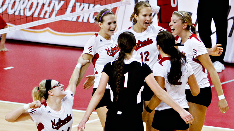 Nebraska's late-season woes cost the team the tournament's top seed.