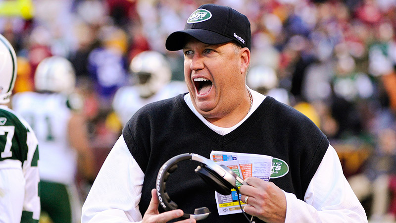 He may be a quote machine, but Rex Ryan should resolve to take the bluster down a notch in 2012.