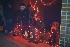 In Spokane, community involvement extends to Halloween; check out coach Graves' haunted house.