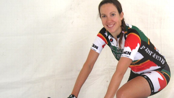 Kick-starting her season, Kathryn Bertine finds inspiration and suffering in a new workout video featuring pro women bike racers.